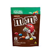 M&MS CHOCOLATE AO LEITE POUCH 148GR