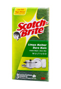 ESPONJA SCOTCH BRITE MULTIUSO DISPLAY /3 CX/160