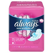 ABSORVENTE ALWAYS PINK C/ABAS 8UN