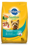 PEDIGREE EQUILIBRIO NATURAL RACAS PEQUENAS 15KG
