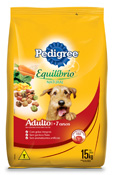 PEDIGREE EQUILIBRIO NATURAL ADULTO + 7 ANOS 15KG