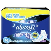 ABSORVENTE ALWAYS NOTURNO ACTIVE L16 P14