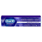 CREME DENTAL ORAL-B 3D WHITE PROTECAO DO ESMALTE 70gr