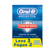 CREME DENTAL ORAL-B PRO-SAUDE ANTI ACUCAR L3 P2 70gr