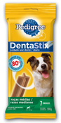 PEDIGREE DENTASTIX RACAS MEDIAS 7 STICKS 180gr