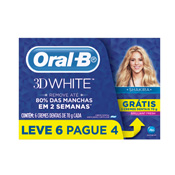 CREME DENTAL ORAL-B 3D WHITE L6 P4  70gr