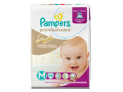 FRALDA PAMPERS PREMIUM CARE M 48UN MEGA