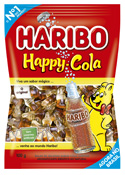 BALA GELATINA HAPPY COLA 100GR