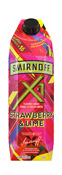 SMIRNOFF X1 STRAWBERRY E LIME 1LT