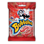 BUBBALOO MORANGO 10x5gr BAG SM