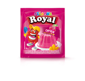 GELATINA ROYAL CEREJA 25GR