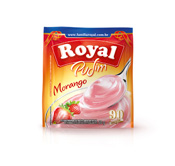PUDIM ROYAL MORANGO 50GR