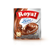 PUDIM ROYAL ZERO ACUCAR CHOCOLATE 35GR DSP