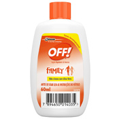 REPELENTE OFF FAMILY LOCAO 60ML