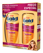 KIT NIELY GOLD SH 300ML + COND 200ML NUTRICAO PODEROSA