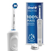 ESCOVA DENTAL ELETRICA ORAL-B VITALITY 110V