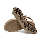 HAVAIANAS HIGH LIGHT II ROSE GOLD METALICO 33/34