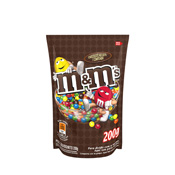 M&MS CHOCOLATE AO LEITE POUCH 200GR