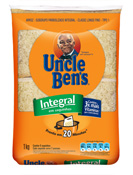 ARROZ UNCLE BENS INTEGRAL SAQUINHOS 1kg