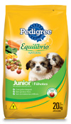 PEDIGREE EQUILIBRIO NATURAL FILHOTES 20KG