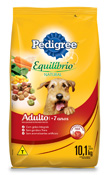 PEDIGREE EQUILIBRIO NATURAL ADULTO + 7 ANOS 10,1KG