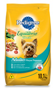 PEDIGREE EQUILIBRIO NATURAL RACAS PEQUENAS 10,1KG