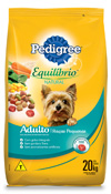PEDIGREE EQUILIBRIO NATURAL RACAS PEQUENAS 20KG
