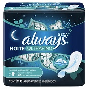 ABSORVENTE ALWAYS NOTURNO ULTRA FINO ACTIVE C/ABAS