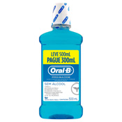 ANTI-SEPTICO ORAL-B PRO-SAUDE L500ML P300ML