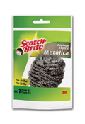 ESPONJA SCOTCH BRITE METALICA