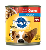 PEDIGREE ADULTO CARNE 280GR LATA