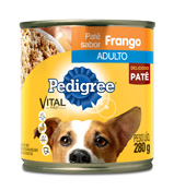 PEDIGREE ADULTO FRANGO 280GR LATA