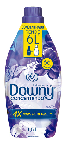 AMACIANTE DOWNY LIRIOS DO CAMPO 1500ML
